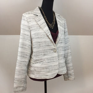 CAbi 505 Static Classic Tweed Blazer